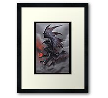 The Dragon of Despair Framed Print