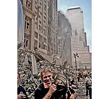 Ground Zero - 9/12/2001 Photographic Print