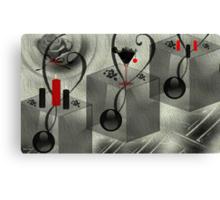 Wall Art Design - 10 - Black and white Canvas Print