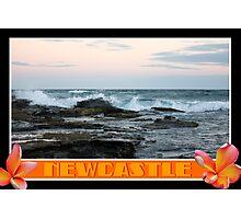 Land And Sea Collide Photographic Print
