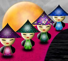 Little China Dolls by lacitrouille
