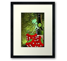 LUCK O THE IRISH  Framed Print