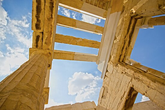 { acropolis in the sky } by Brooke Reynolds