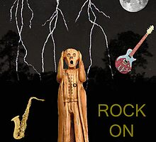 The Scream World Tour  Scream Rocks Rock on by Eric Kempson