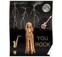 The Scream World Tour  Scream Rocks You Rock  Poster