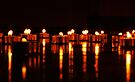Candle Reflection by Amy Dee