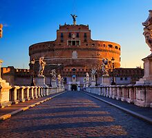 Castel Sant'Angelo by Inge Johnsson