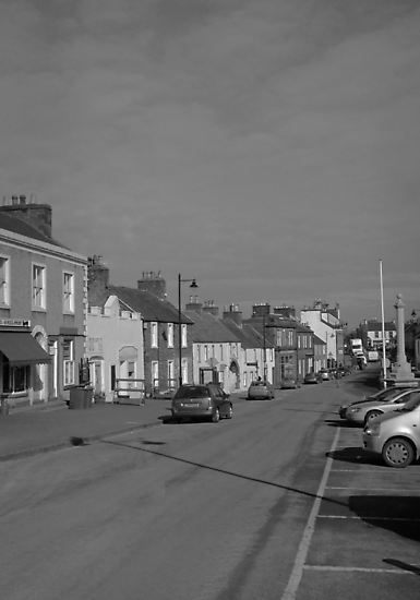 Whithorn, Scotland..Main street by sarnia2