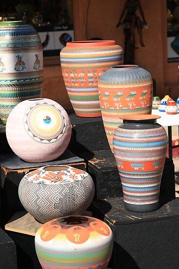 Santa Fe - Pottery by Frank Romeo