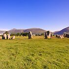 CASTLERIGG STONE CIRCLE by Phil  WEBB