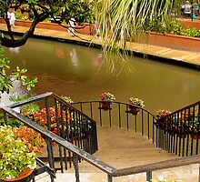 Riverwalk Stairs by Jamie  Armbruster