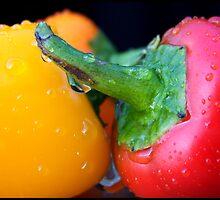 Sweet Peppers by LisaMarie Miranda