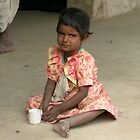 Young Indian Girl, Rajasthan by TracyS