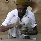 Indian Potter, Rajasthan by TracyS