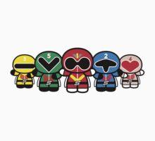 Chibi-Fi Super Sentai Goranger by Eozen