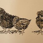 Crevocuer Chicks by Kay Hale