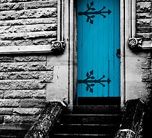 The Blue Door (sc) by fotoWerner