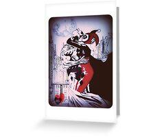 Batman's the new Joker Greeting Card