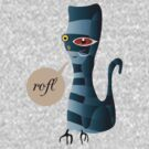 Grey Cat-astrophe ROFL by stbiii0