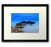 Rhythm of the Sea Framed Print