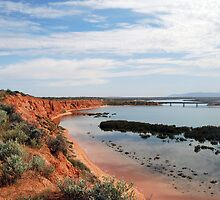 Red Cliffs by Ian Berry