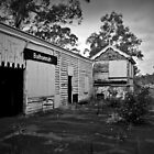 Old Balhannah Railway Station by Barb Leopold