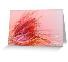 leafy seduction Greeting Card