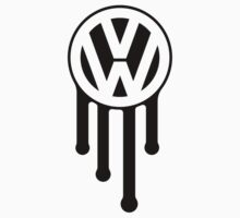 VW Drip Logo by Volkswagen Guy