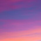 Tranquil Sunset Sky by Carl Revell