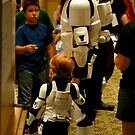 Stormtrooper Take Your Son To Work by Troy  Hull
