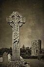 Celtic High Cross - textured by PhotosByHealy