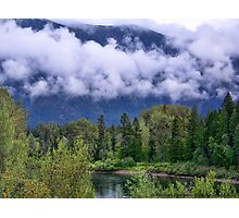 First Snow in the Flathead Photographic Print