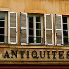 """Antiquites"" Windows by Laurel Talabere"