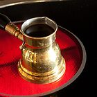 Arab small copper coffee pot  by IKGM