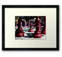 Garden Games At Kings Cross Framed Print