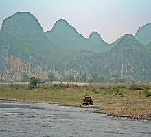 Along the Li River. by GW-FotoWerx