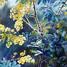 Cootamundra Wattle by Lynda Robinson