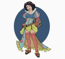 Steampunk Snow White Kids Clothes