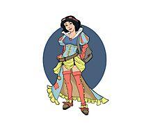 Steampunk Snow White Photographic Print