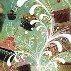 vintage cupcakes by Narelle Craven