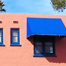 Three windows at the Arizona Inn by DAdeSimone
