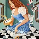 Danielle in Wonderland by nancy salamouny