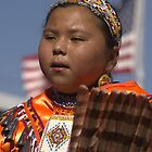 Natural Beauty - Young Jingle Dancer by WesternArt