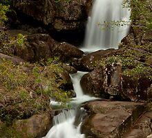 Little Crystal Creek Falls  by Lincoln Stevens