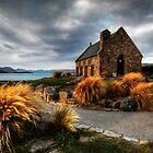 Church of the Good Shepherd, Lake Tekapo by Bluesoul Photography