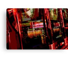 Million Dollar Red Canvas Print