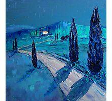 Tuscan night Photographic Print