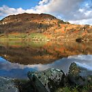 Winter at Rydal water by Shaun Whiteman