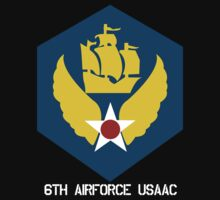 6th Airforce Emblem by warbirdwear