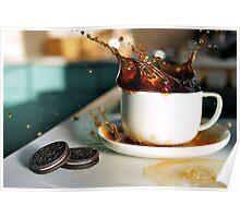 Coffee Splash! Poster